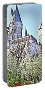 Hogwarts - Islands Of Adventure, Florida Portable Battery Charger