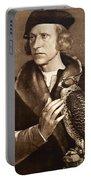 Holbein: Falconer, 1533 Portable Battery Charger