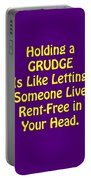 Holding A Grudge Is Like 5438.02 Portable Battery Charger