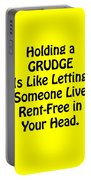 Holding A Grudge Is Like 5439.02 Portable Battery Charger
