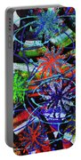 Holiday Abstract  Portable Battery Charger