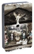 Holiday Christmas Manger Pa 01 Portable Battery Charger