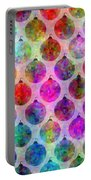 Holiday Colors - Christmas Pattern Portable Battery Charger
