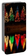 Holiday Evergreen Reflections Portable Battery Charger