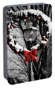 Holiday Lamp Post Portable Battery Charger
