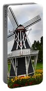 Holland Grey Windmill  Portable Battery Charger