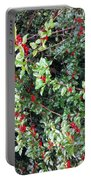 Holly Berries Portable Battery Charger