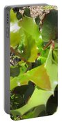 Holly Leaves Portable Battery Charger