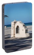Hollywood Beach Wall In Color Portable Battery Charger