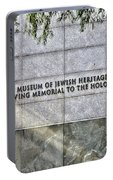 Holocaust Museum Of Jewish Heritage Ny Portable Battery Charger