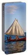 Holokai - Pacific Islander Sailing Canoe Portable Battery Charger