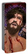 Holy Face Of Ecce Homo Portable Battery Charger