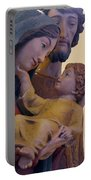 Holy Family Statue Portable Battery Charger