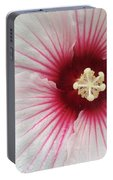Holy Hibiscus Portable Battery Charger