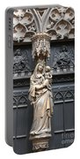 Holy Mary And Child Portable Battery Charger