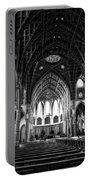 Holy Name Cathedral Chicago Bw 04 Portable Battery Charger
