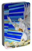 Holy Spirit Dove Portable Battery Charger