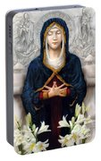 Holy Woman Portable Battery Charger