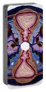 Homage To The Uterus - Portal Of The Universe Portable Battery Charger