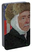 Homage To Van Gogh Selfie Portable Battery Charger
