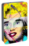 Homage To Warhol Portable Battery Charger