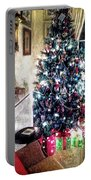 Home For Christmas Portable Battery Charger