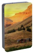 Home On The Range In Antelope Oregon Portable Battery Charger