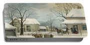 Home To Home To Thanksgiving, 1867 Portable Battery Charger