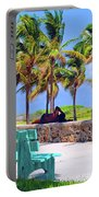 Home On The Beach Portable Battery Charger