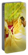 Honey Bees And Magnolia Portable Battery Charger