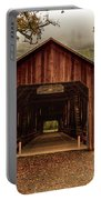 Honey Run Covered Bridge In Autumn Portable Battery Charger