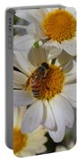 Honeybee And Daisy Mums Portable Battery Charger