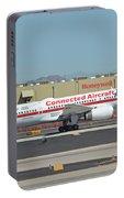 Honeywell Boeing 757-225 N757hw Phoenix Sky Harbor September 30 2017 Portable Battery Charger