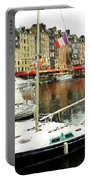 Honfleur Harbor 2 Portable Battery Charger