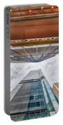 Hong Kong Buildings Colour Portable Battery Charger