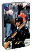 Honor Guard At Arlington Cemetery Portable Battery Charger