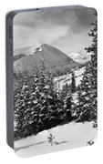 Hoosier Pass Winter Landscape Portable Battery Charger