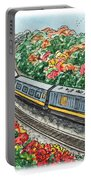 Hop On A Train Portable Battery Charger