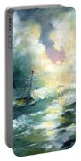 Hope In The Storm I Portable Battery Charger