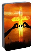 Hope - Painting Portable Battery Charger