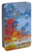 Hope Rising - With Poem Portable Battery Charger