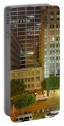 Hope Street Night Dtla Portable Battery Charger