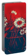 Hope Sunflowers  Portable Battery Charger