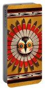 Hopi Owl Mask Portable Battery Charger