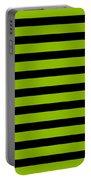 Horizontal Black Inside Stripes 09-p0169 Portable Battery Charger