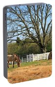 Horse And Hay Portable Battery Charger