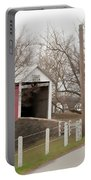 Horse Buggy And Covered Bridge Portable Battery Charger