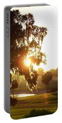 Horse Country Sunset Portable Battery Charger