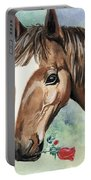 Horse In Love Portable Battery Charger