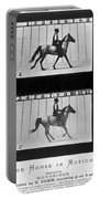 Horse In Motion, 1878 Portable Battery Charger